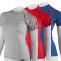 Barevné dámské funkční trička řady Comfort