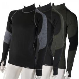 Pánské dlouhorukávové termo tričko s Merino vlnou řady Wooler