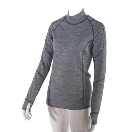 Dámské termo tričko s dlouhým rukávem s Merino vlnou Nanobodix Wooler 420e201377