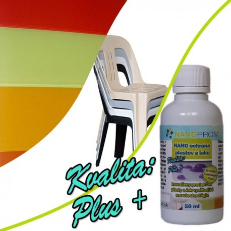 NANO ochrana plastů a laku Kvalita Plus+ 50ml