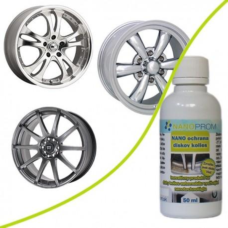 NANO ochrana disků kol pro 1 automobil 50ml