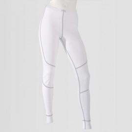 Dámské bílé spodní termo kalhoty z polypropylenu řady An-Atomic