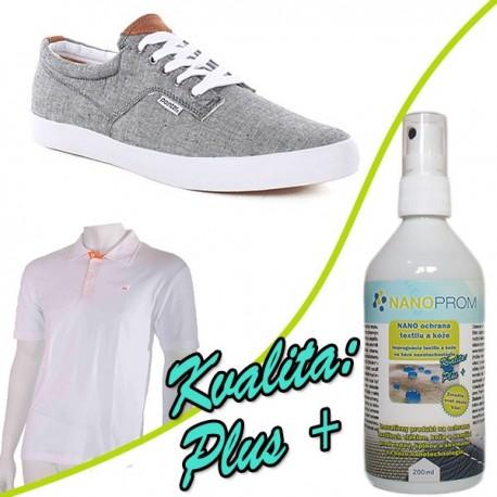 NANO impregnace textilu a obuvi Kvalita Plus+ 200ml