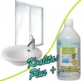 NANO ochrana skla a keramiky Kvalita Plus+ 200ml