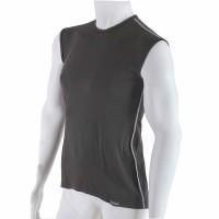 Pánské antibakteriální černé tričko bez rukávů An-Atomic