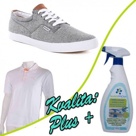 NANO impregnace textilu a obuvi Kvalita Plus+ 500ml