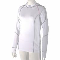 Dámské antibakteriální tričko s dlouhým rukávem An-Atomic bílé