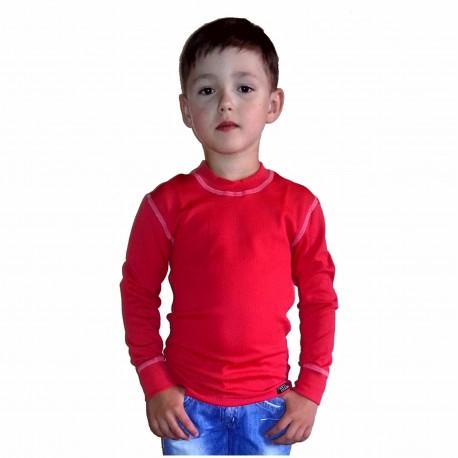 Dětské tričko s dlouhým rukávem An-Atomic černé nebo červené