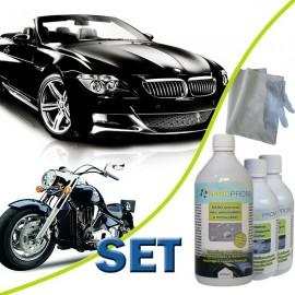 SET - NANO ochrana laku automoto 200ml + Abraz. čistič 200ml