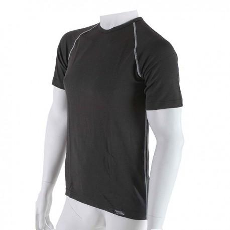 Pánské antibakteriální černé tričko s krátkým rukávem An-Atomic