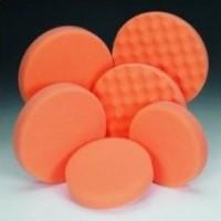 Anti hologramová houbička oranžová průměr 160x30mm