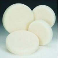 Brusná houbička tvrdá bílá průměr 130x30mm