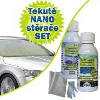 SET - Nanotech tekuté stěrače 25ml + Abrazivní čistič 30ml