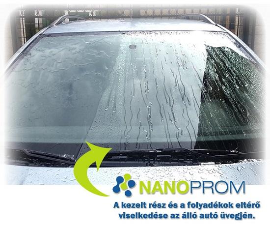 NANO folyékony ablaktörlők gyakorlatban – NanoProm.hu