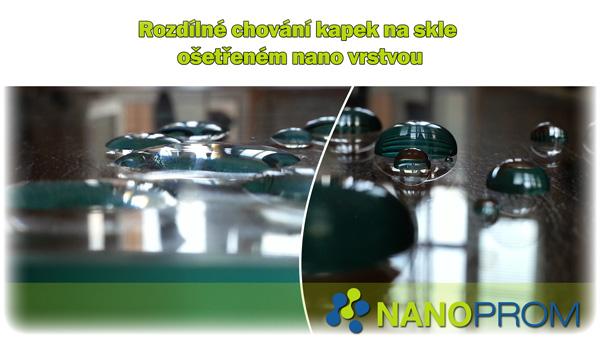 Nano ochrana skla a keramiky - rozdíl